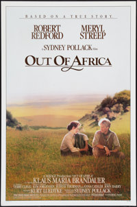 "Out of Africa (Universal, 1985). One Sheet (27"" X 41""). Drama"