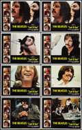 "Movie Posters:Rock and Roll, Let It Be (United Artists, 1970). Lobby Cards (8) (11"" X 14""). Rockand Roll.. ... (Total: 8 Items)"