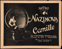 "Camille (Metro, 1921). Title Lobby Card and Lobby Card (11"" X 14""). Drama. ... (Total: 2 Items)"