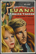 "Movie Posters:Adventure, Luana (Lumiere Sudamericana, 1973). Argentinean Poster (29"" X 43"").Adventure.. ..."