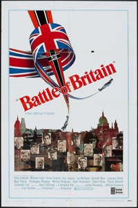 "Battle of Britain (United Artists, 1969). One Sheet (27"" X 41"") & Program (34 Pages, 8.5"" X 11&qu..."