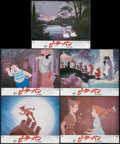 "Movie Posters:Animated, Peter Pan & Others Lot (Walt Disney, R-1980s). Japanese Lobby Cards (12) (10.75"" X 13.5""). Animated.. ... (Total: 12 Items)"