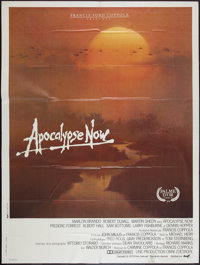"Apocalypse Now (United Artists, 1979). French Grande (47"" X 63"") and Souvenir Program (7"" X 11""). Wa..."
