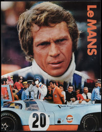 """Le Mans (National General, 1971). Gulf Promotional Poster (17"""" X 22""""). Sports"""
