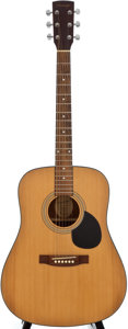 Musical Instruments:Acoustic Guitars, Blueridge BR-OM Natural Acoustic Guitar, Serial #00050029....