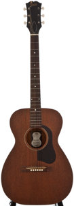 Musical Instruments:Acoustic Guitars, 1960's Guild M-20 Mahogany Acoustic Guitar....