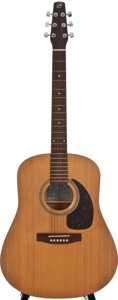 Musical Instruments:Acoustic Guitars, Seagull S 6 Natural Acoustic Guitar, Serial Number #98392198....