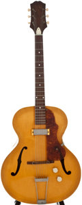 Musical Instruments:Acoustic Guitars, 1954 Epiphone Century Natural Archtop Electric Guitar, Serial Number #67651....