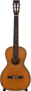 Musical Instruments:Acoustic Guitars, 1920's Washburn 1915 Natural Classical Guitar, Serial Number #38385....