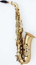 Musical Instruments:Horns & Wind Instruments, Late 1940's King Super 20 Brass Alto Saxophone, Serial Number #290047....