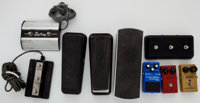 Guitar Effects Pedal Lot MXR, Amp Footswitch's, Boss, Cry Baby, Etc
