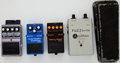 Musical Instruments:Amplifiers, PA, & Effects, Guitar Effects Pedal Lot Boss, Ashbass, DOD, Cry Baby... (Total: 5 Items)