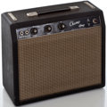 Musical Instruments:Amplifiers, PA, & Effects, 1960's Fender Champ Blackface Guitar Amplifier, Serial Number#A02037....