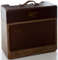 Musical Instruments:Amplifiers, PA, & Effects, 1950's Gibson Les Paul Guitar Amplifier, Serial Number #51088....