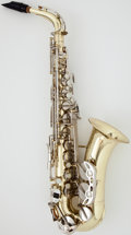 Musical Instruments:Horns & Wind Instruments, Armstrong Brass Alto Saxophone, Serial Number #31 28218....