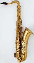 Musical Instruments:Horns & Wind Instruments, 1972 Buffet Super Dynaction Brass Tenor Saxophone, Serial Number #18532....