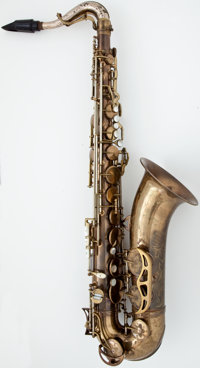 Circa late 1940's King Super 20 Brass Tenor Saxophone, Serial Number #285157