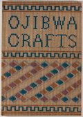 Books:Americana & American History, Carrie A. Lyford. The Crafts of the Ojibwa (Chippewa).Indian Handicrafts 5. Phoenix: U.S. Office of Indian Affa...