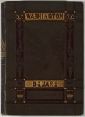 Books:First Editions, Henry James. Washington Square. New York: Harper &Brothers, 1881. First edition. Twelvemo. 266 pages, plus 6 pages...