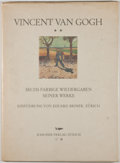Books:Art & Architecture, Eduard Briner. Vincent Van Gogh. Zurich: Rascher Verlag, 1947. Quarto. 16 pages of text with 6 loose full-color full...