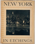Books:Art & Architecture, Anton Schutz. New York in Etchings. New York: Bard Brothers, [1939]. One of 2,050 limited copies, of which this is n...