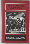 Books:Horror & Supernatural, Frank Belknap Long. The Rim of the Unknown. Sauk City:Arkham House, 1972. First edition. 291 pages. Publisher's...