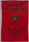 Books:Signed Editions, Allen Ginsberg. SIGNED. Collected Poems 1947-1980. Firstedition. Signed by the author. Octavo. 837 pages. P...