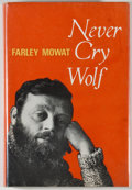 Books:Natural History Books & Prints, Farley Mowat. Never Cry Wolf. Toronto: McClelland and Stewart, [1963]. First edition. Octavo. 247 pages. Publisher's...
