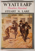 Books:Americana & American History, Stuart N. Lake. Wyatt Earp. Frontier Marshal. Boston:Houghton Mifflin, 1931. First edition. Octavo. 392 pages. ...