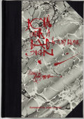 Books:Signed Editions, [Ralph Steadman]. Tony Palmer. SIGNED/LIMITED. Born Under a Bad Sign. New Updated edition, Artist's Proof Co...