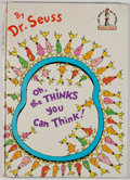 Books:Children's Books, Dr. Seuss. Oh, the Thinks You Can Think! [New York]: RandomHouse, [1975]. First edition. Publisher's binding. G...