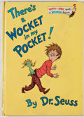 Books:Children's Books, Dr. Seuss. There's a Wocket in my Pocket! New York: RandomHouse, [1974]. First edition. Publisher's binding. Genera...