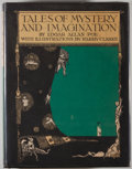 Books:Children's Books, [Harry Clarke, illustrator]. Edgar Allan Poe. Tales of Mysteryand Imagination. New York: Brentano's, [1923]. Fi...