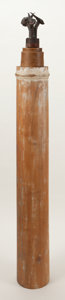 Post-War & Contemporary:Contemporary, FROM THE ESTATE OF DR. EDMUND P. PILLSBURY. ARTIST UNKNOWN(American, 20th Century). Untitled. Wood column, beeswaxpl...