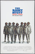 "Movie Posters:Adventure, The Right Stuff (Warner Brothers, 1983). One Sheet (27"" X 41"")Advance. Adventure.. ..."