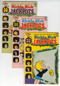 Bronze Age (1970-1979):Humor, Richie Rich Jackpots #1-58 File Copy Short Box Group (Harvey,1972-82) Condition: Average NM-....