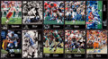 "Autographs:Sports Cards, 1997 Upper Deck ""NFL Legends"" Signed Football Cards Group of (10)...."