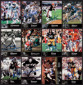 "Autographs:Sports Cards, 1997 Upper Deck ""NFL Legends"" Signed Football Cards Group of (12). ..."