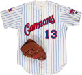 """Baseball Collectibles:Others, Ryan Klesko Game Worn Glove and Potomac No. 13 """"Anderson"""" Game WornJersey...."""