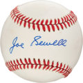 Baseball Collectibles:Hats, Joe Sewell Single Signed Baseball. ...