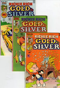 Richie Rich Gold and Silver #2-42 File Copy Short Box Group (Harvey, 1975-82) Condition: Average NM-