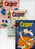 Silver Age (1956-1969):Humor, Friendly Ghost Casper #101-195 File Copy Short Box Group (Harvey, 1967-77) Condition: Average VF/NM....