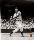 "Baseball Collectibles:Photos, Ted Williams ""1942"" Signed Oversized Photograph...."
