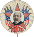 Political:Pinback Buttons (1896-present), Alton B. Parker: Distinctive Design....