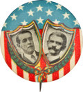 Political:Pinback Buttons (1896-present), Wilson & Marshall: Colorful Jugate. ...