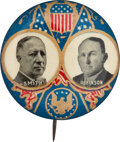Political:Pinback Buttons (1896-present), Smith & Robinson: Ornate Jugate. ...