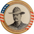 Political:Pinback Buttons (1896-present), Theodore Roosevelt: 1900 Rough Rider Button....