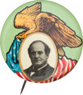 Political:Pinback Buttons (1896-present), William Jennings Bryan: Knockout Design. ...