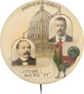 Political:Pinback Buttons (1896-present), Parker & Davis: Fantastic Advertising Classic. ...
