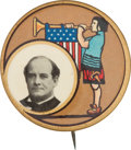 Political:Pinback Buttons (1896-present), William Jennings Bryan: Maxfield Parrish Design. ...